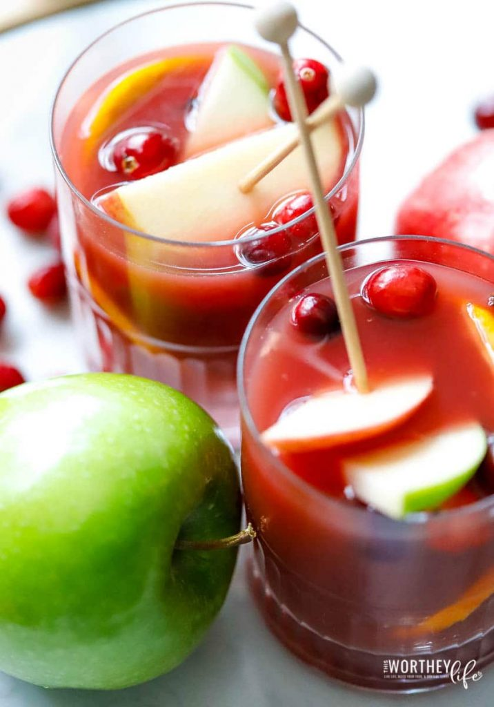 Easy to make non-alcoholic holiday drinks