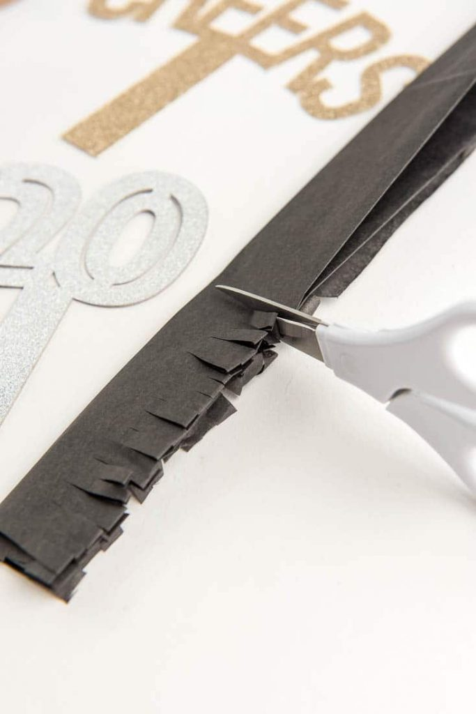 How to put the New Year's Eve Headband together:
