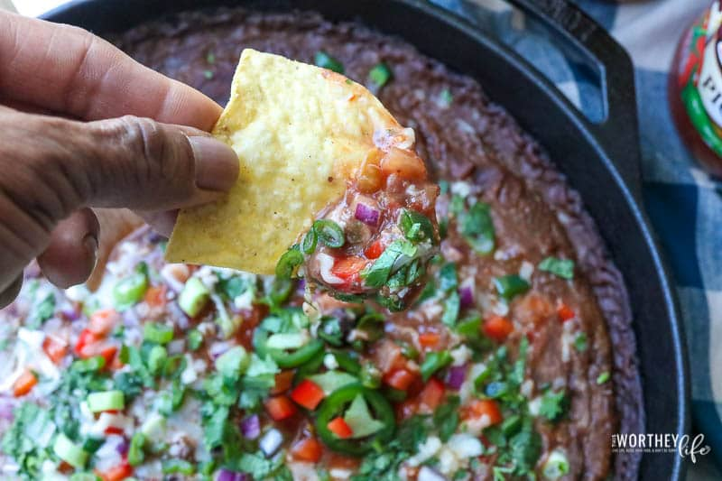 Black Bean Salsa Dip Recipe