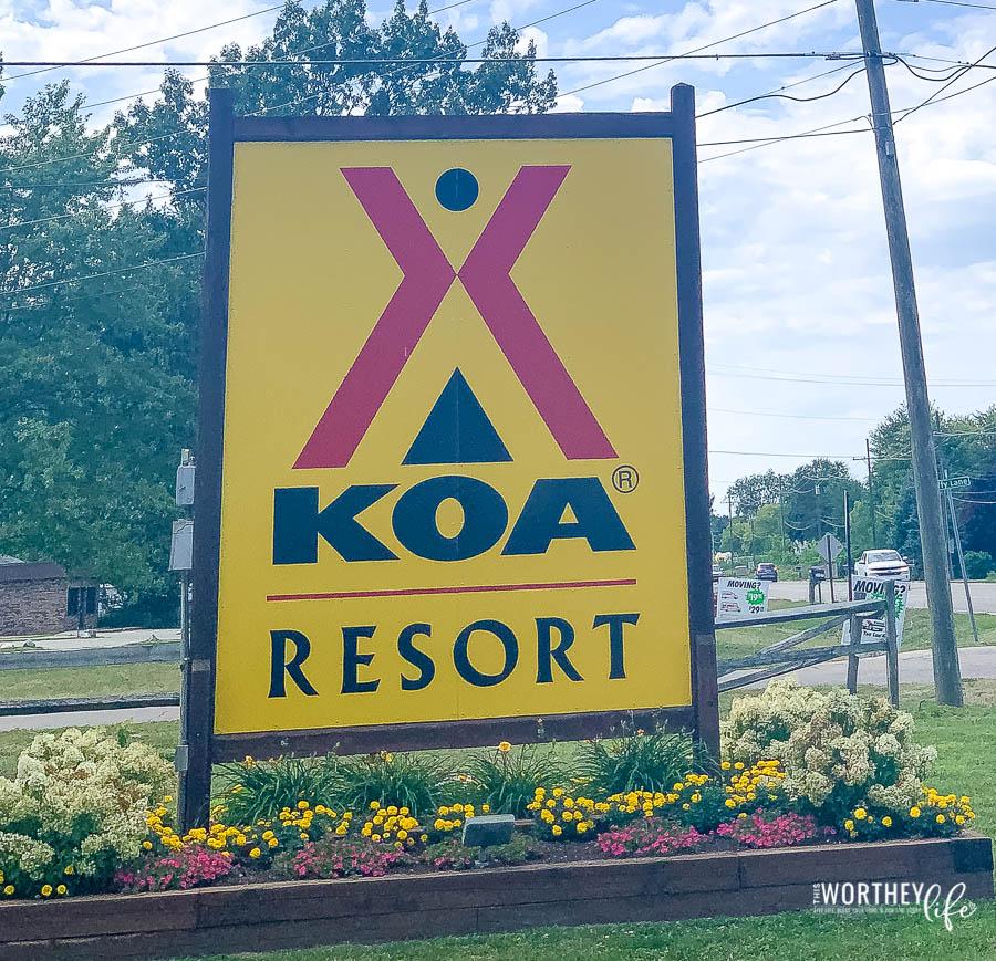 Why Choose KOA Port Huron in Kimball, Michigan