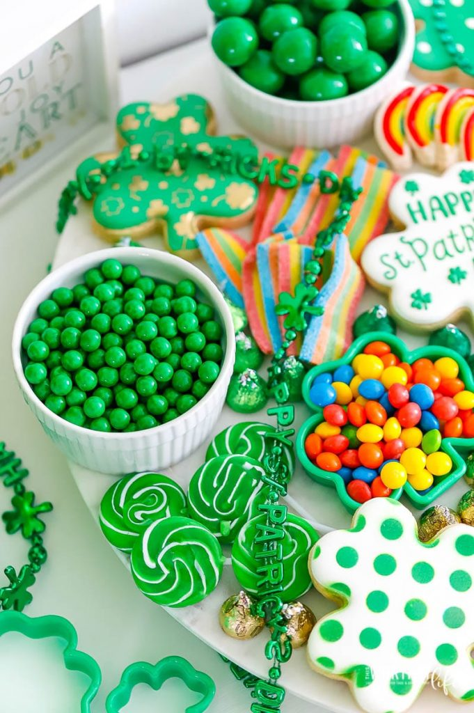 St. Patrick's Day Party + Candy Board
