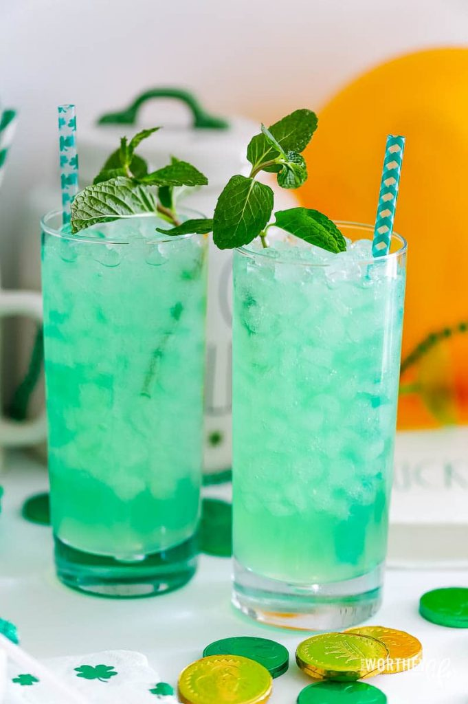 St. Patrick's Day Mocktail