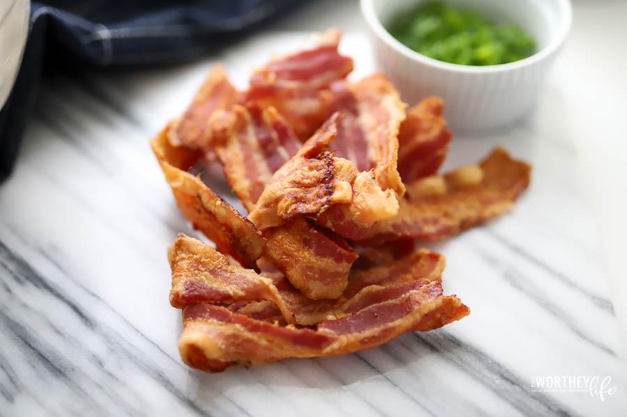 Bacon and spinach quiche recipe