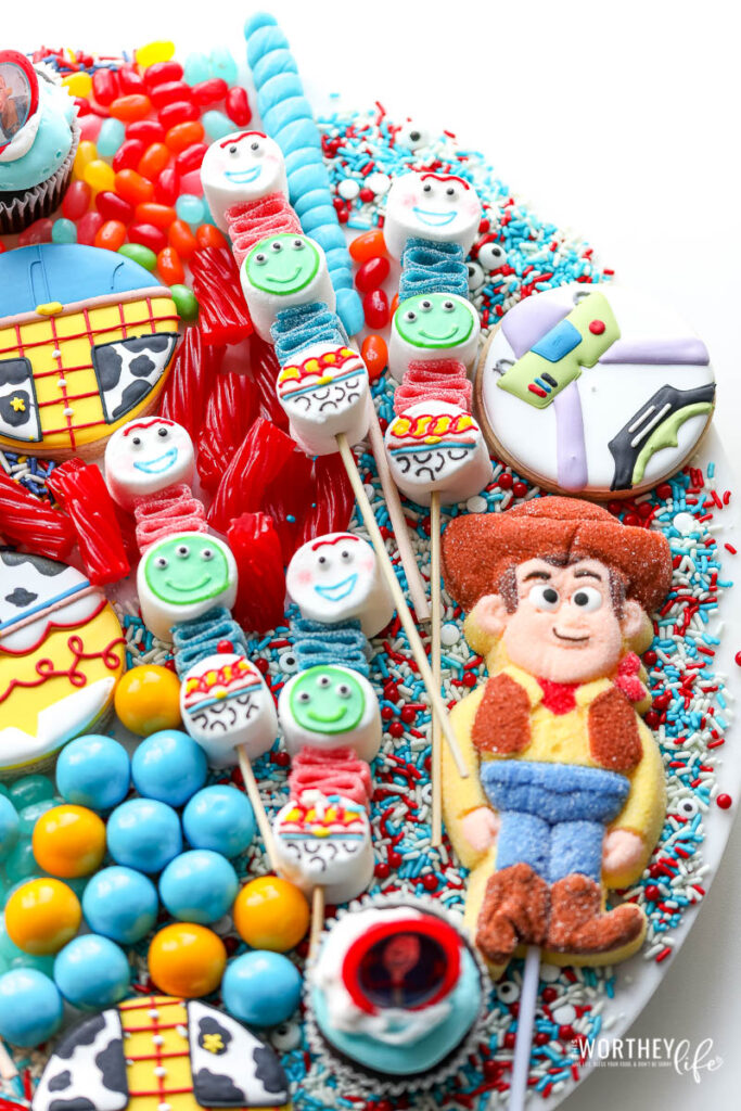 Toy Story Candy Board For A Toy Story Party