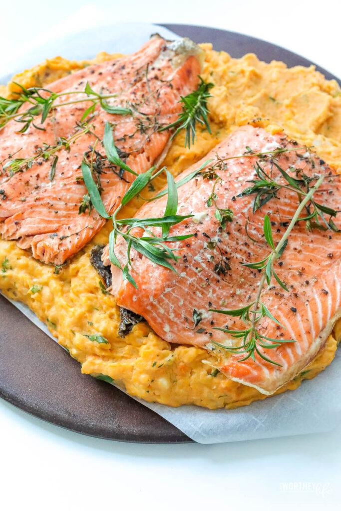 Salmon Potato Bake Dinner Recipe