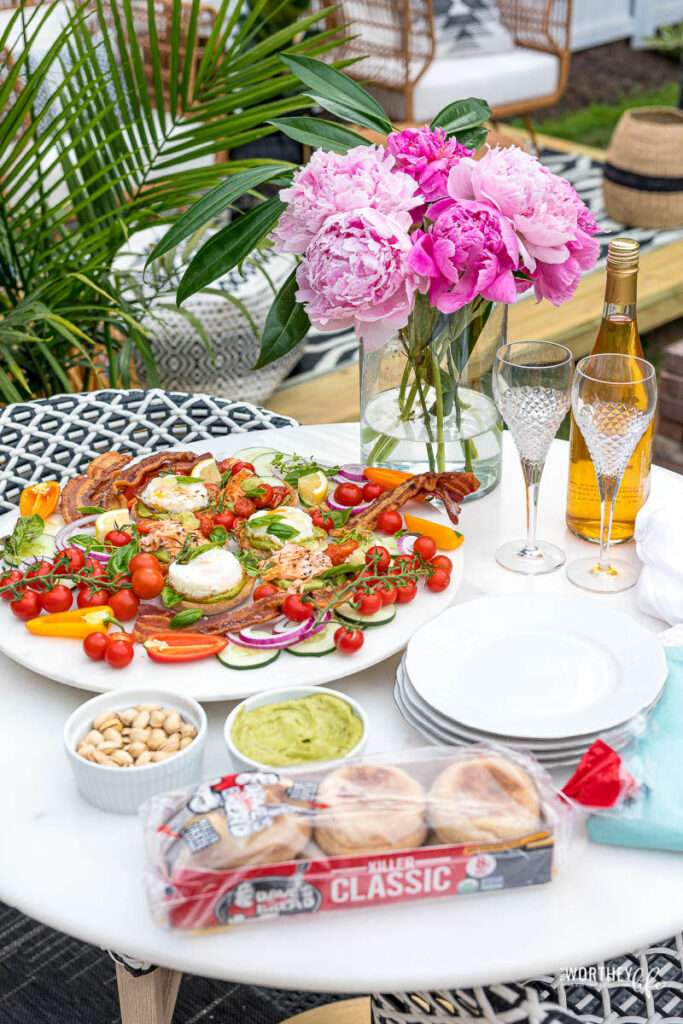 brunch at home ideas
