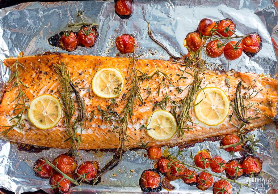 Baked Herb Salmon Recipe