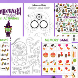 Free Halloween Activities Printables For Kids
