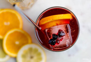 Blueberry Gin Cocktail