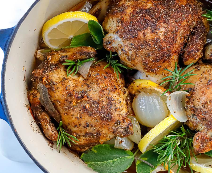easy cornish hens