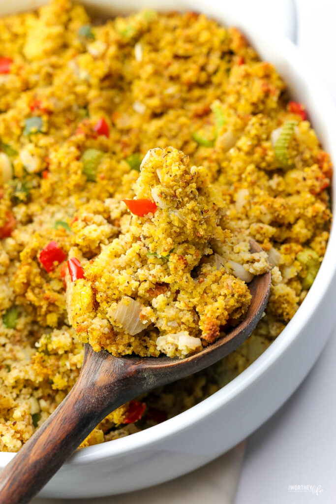 easy cornbread dressing recipe