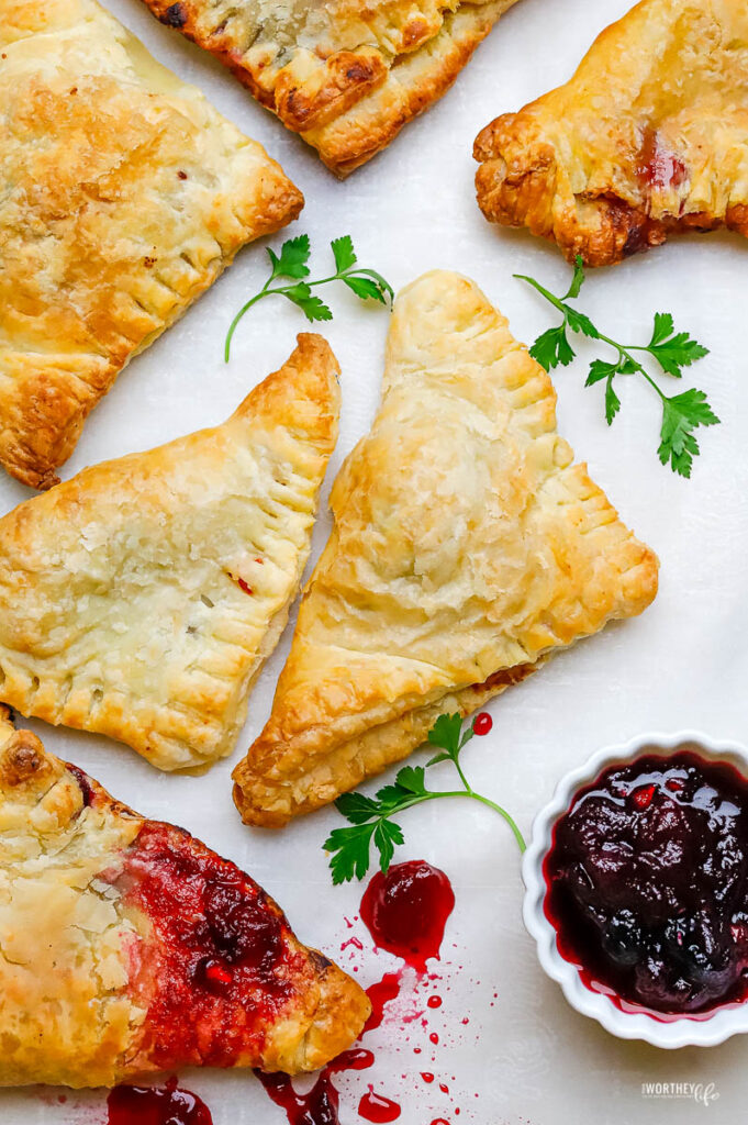 Air Fryer Hand Pies Recipe Using Thanksgiving Leftovers
