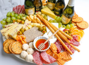 Champagne Charcuterie Board
