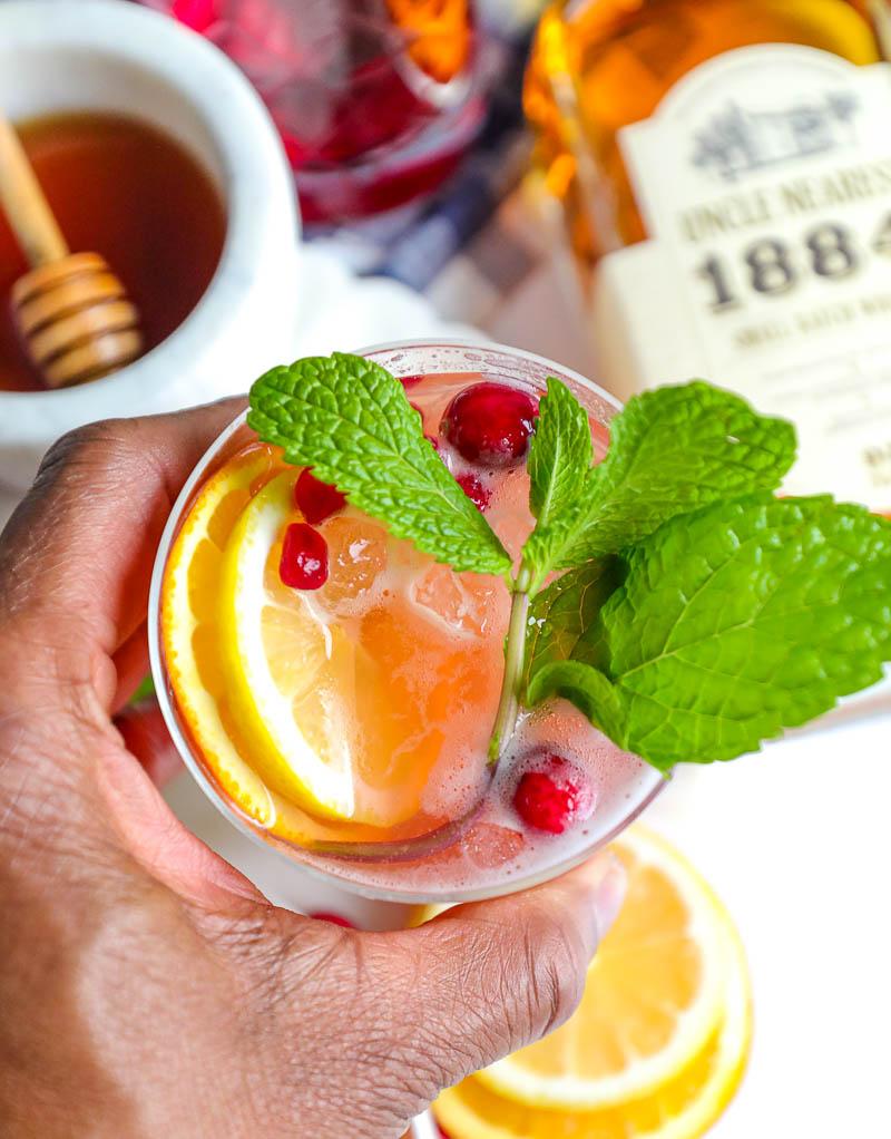 whiskey sangria
