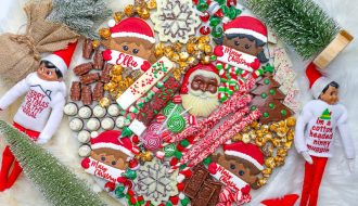 Elf on the Shelf Hot Cocoa Board