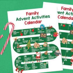 activity advent calendar for families