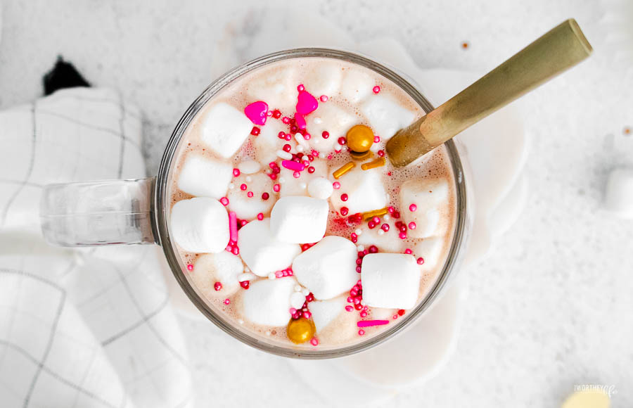 hot chocolate recipes for valentine's day
