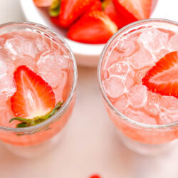 Pink Cranberry Mocktail