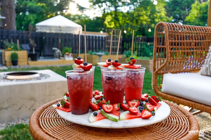 Watermelon Vodka Punch
