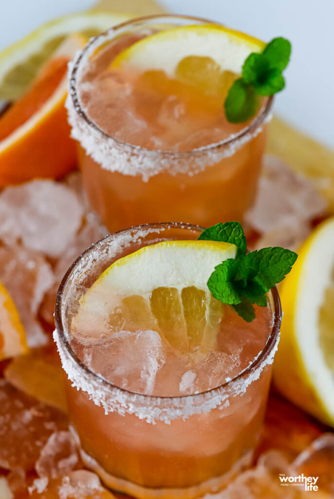 mezcal tequila cocktail