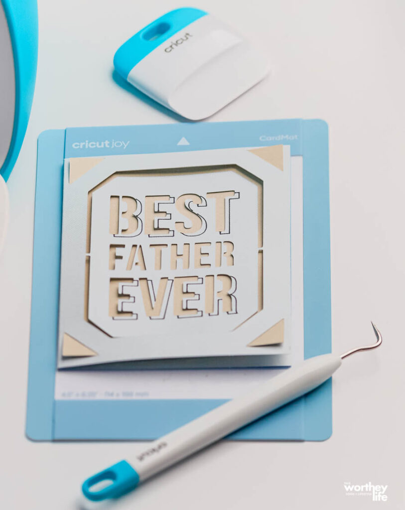 best father ever diy card