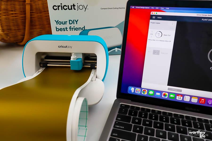 DIY cricut projects with Cricut Joy