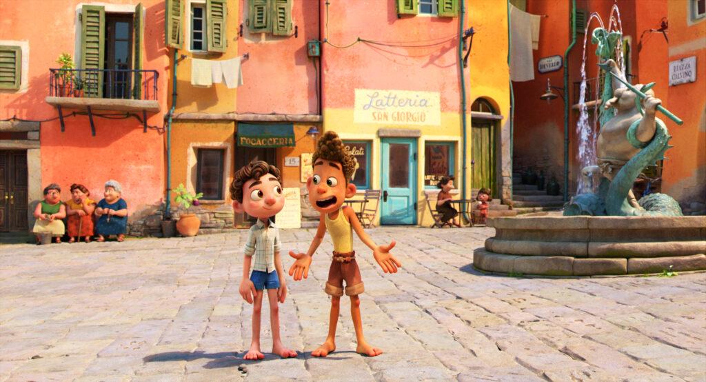Disney Pixar's Luca movie review