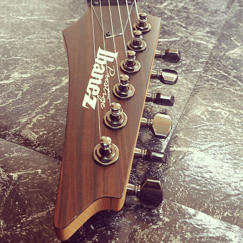 Japan Finish Made Natural Guitar Ibanez