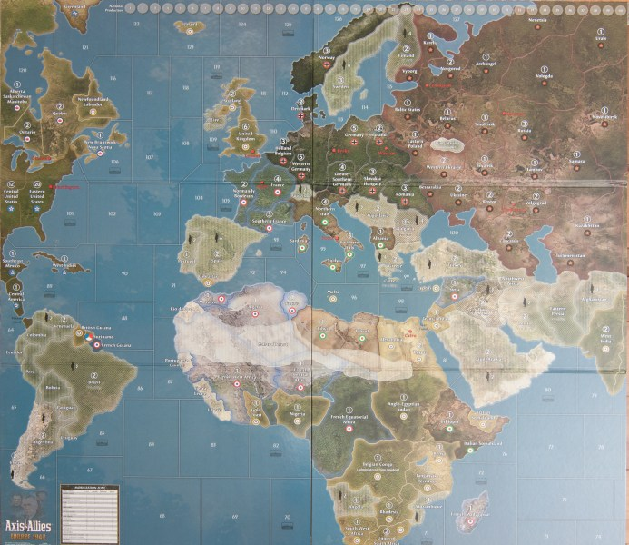 Map for Axis   Allies Europe 1940 Second Edition   Axis   Allies  org Previous Image   Full Size Image