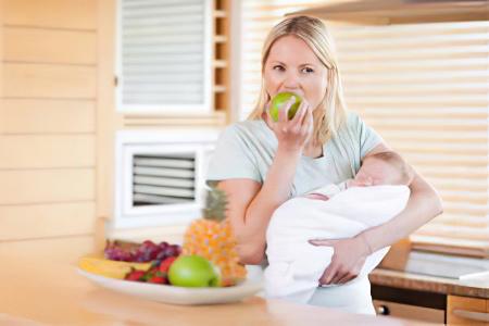 どの果物が看護師のお母さんを食べることができます