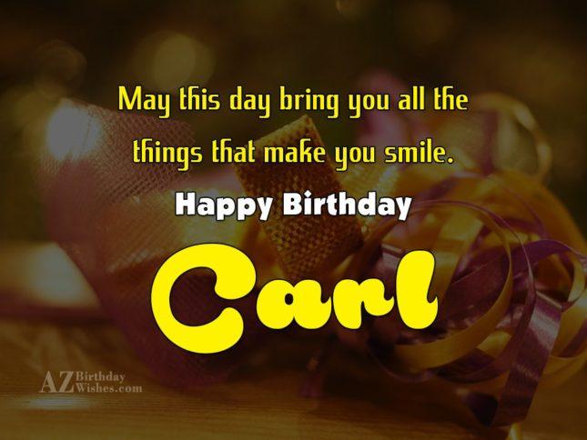 Golf Happy Carl Birthday