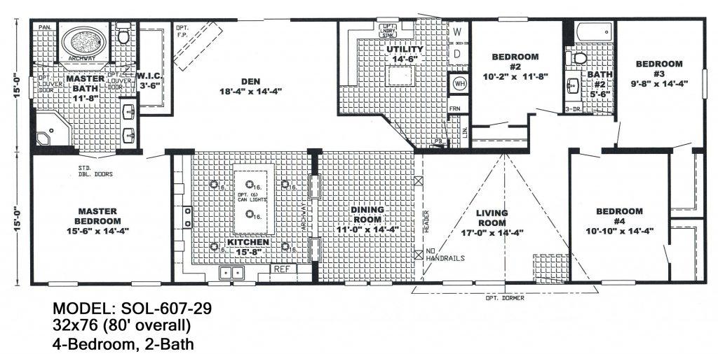 Plans 1 Wide 20 Floor Bedroom