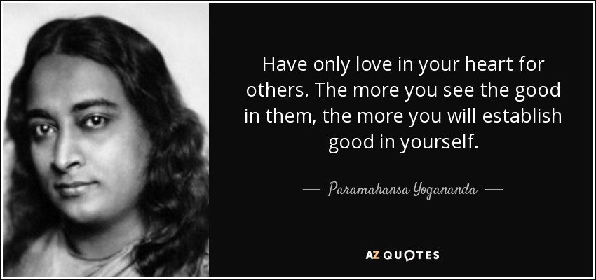 Yogananda Quotes Love