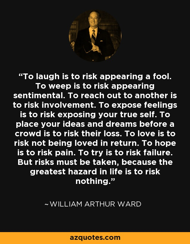 Laugh Risk Appearing Fool
