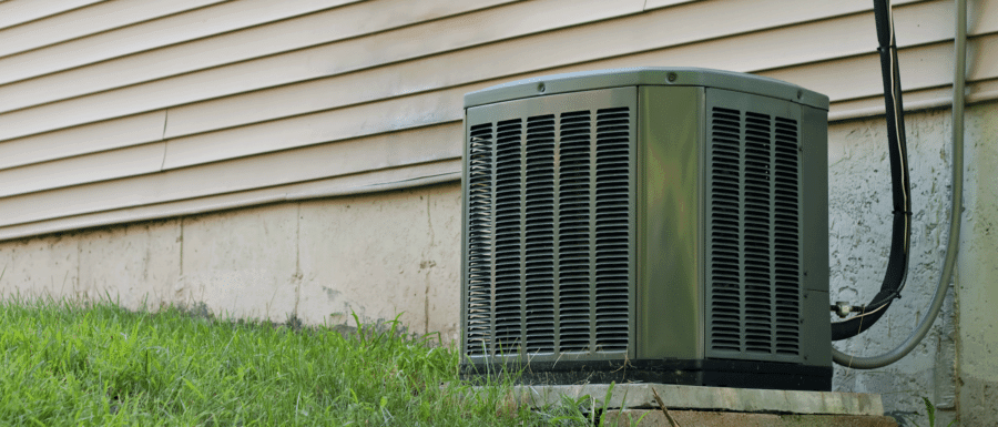 Outside Air Conditioner Unit