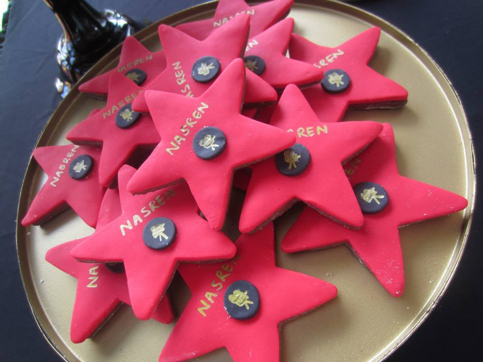 Cake Edible Wars Decorations Star