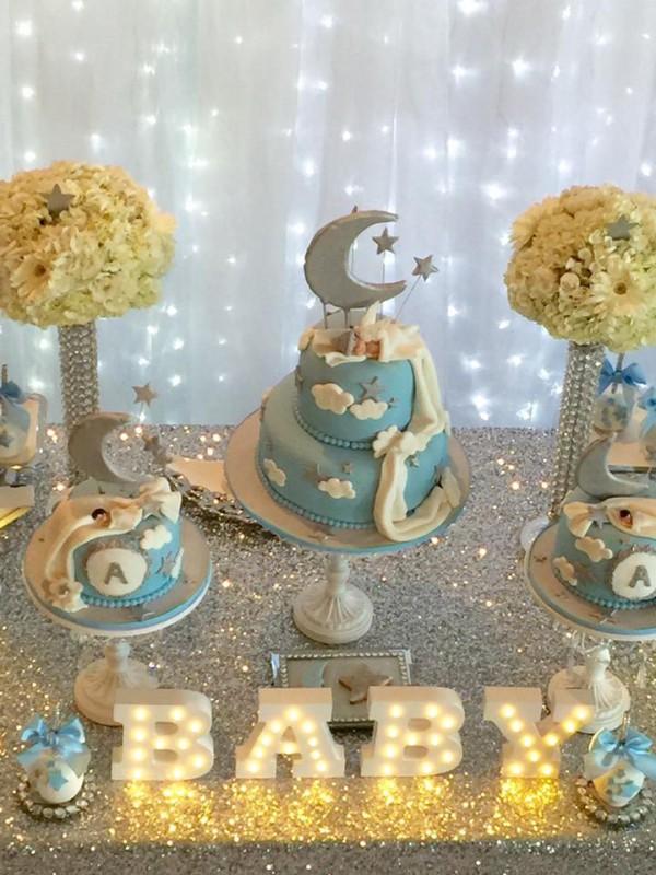 Elegant Twinkle Twinkle Little Star Baby Shower Ideas