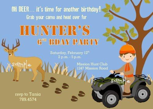 Happy Birthday Hunter Funny Deer