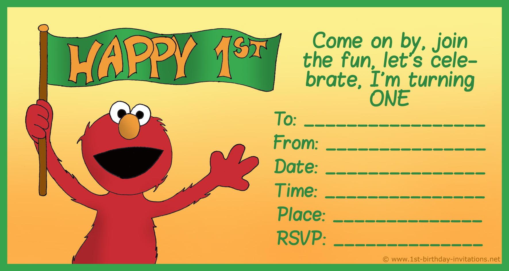 Happy Birthday Invitation Card Online