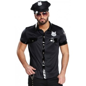 D    guisement chemise policier homme sexy   achat D    guisements poolicier D    guisement chemise policier homme sexy