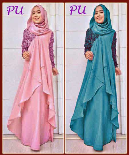 Image Result For Model Gamis Syari Simple