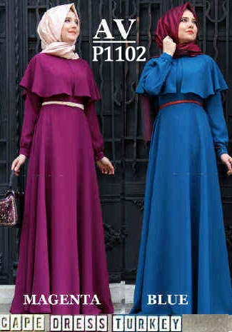 Image Result For Model Gamis Cape Brokat