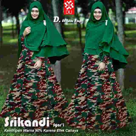 Image Result For Model Baju Gamis Loreng Army