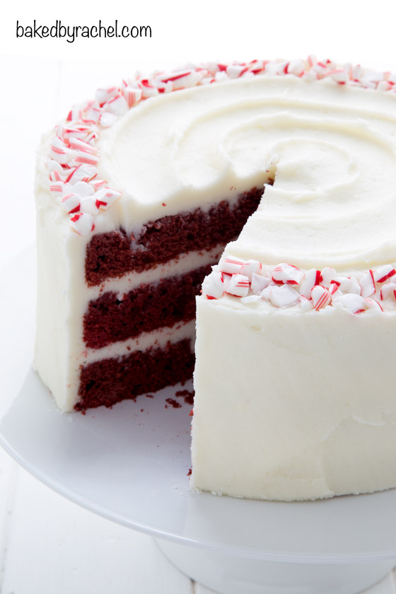 Two Layer Red Velvet Cake Recipe