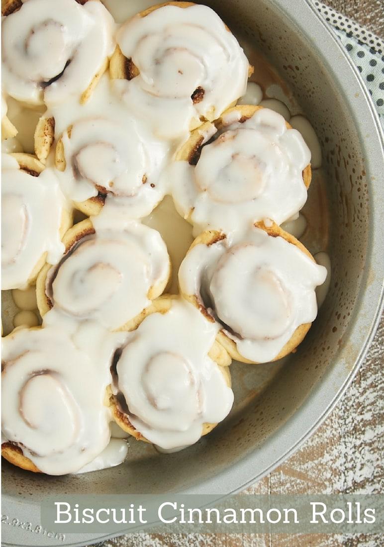 Confectioners Sugar Icing Cinnamon Rolls