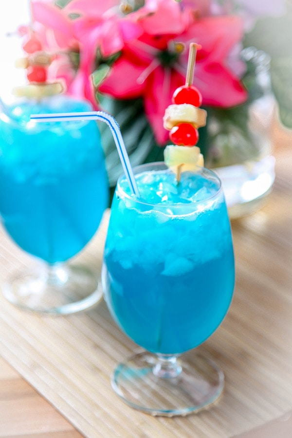 Blue Hawaiian Cocktail Recipe: Ice Cold and Refreshing
