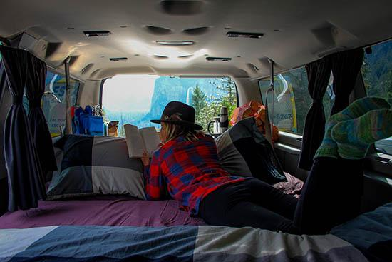 Mavericks Campervan Rental From Los Angeles San Francisco