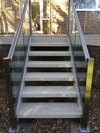 Stairs Glass Balustrades Staircases Glass Railings Glass | Glass Banisters For Stairs Price | Floating Stairs | Oak Staircase | Oak Handrail | Wood | Curved Glass