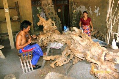 Balinese Wood Sculptor - Mas Village – Bali Star Island ...