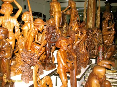 Bali Wood Carving Souvenir Sources - Mas Village – Bali ...